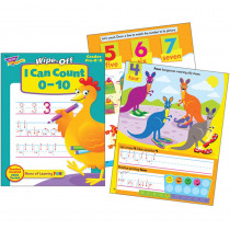 T-94220 - I Can Count 0-10 Wipe-Off Book 28Pg in Language Arts
