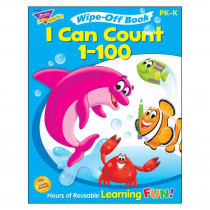 T-94223 - I Can Count 1-100 Wipe Off Book Gr Pk-K in Math