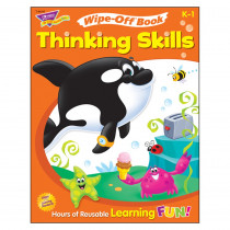 T-94235 - Wipe Off Book Thinking Skills in Activity Books