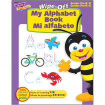 T-94503 - My Alpha Book Bilingual 28Pg Wipe-Off Books in Language Arts