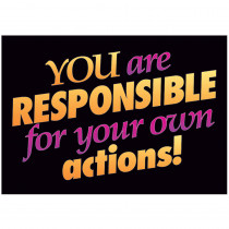 T-A62587 - Poster You Are Responsible in Motivational