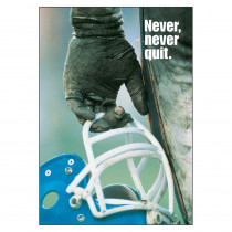 T-A62874 - Poster Never Never Quit 13 X 19 Large in Motivational