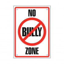 T-A67109 - Poster No Bully Zone 13 X 19 in Social Studies