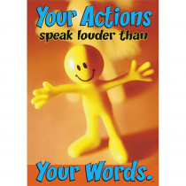 T-A67181 - Your Actions Speak Louder Than in Motivational