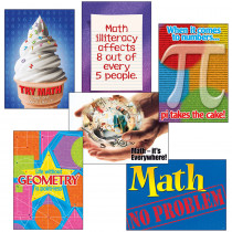 T-A67916 - Math Matters Combo Sets Argus Posters in Math