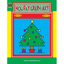 TCR0093 - Holiday Graph Art Gr 2-6 in Graph Art