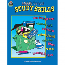 TCR0194 - Middle School Study Skills in Skill Builders
