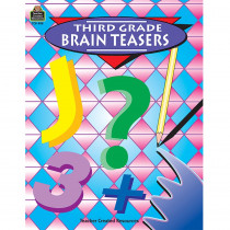 TCR0488 - Third Grade Brain Teasers in Games & Activities