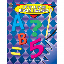 TCR0511 - Fifth Grade Brain Teasers Gr 5 in Games & Activities