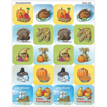 TCR1255 - Thanksgiving Stickers in Holiday/seasonal