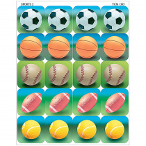 TCR1385 - Sports 2 Stickers in Physical Fitness