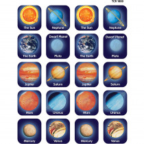 TCR1800 - Planets Thematic Stickers in Science