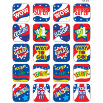 TCR1813 - Usa Spirit Stickers in Holiday/seasonal