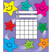 TCR1874 - Happy Stars Incentive Charts 30Sht in Incentive Charts