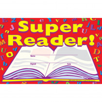 TCR1935 - Super Reader Awards 25Pk 8-1/2 X 5-1/2 in Language Arts
