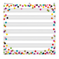 "Confetti 7 Pocket Chart, 28 x 28"" - TCR20327 | Teacher Created Resources | Pocket Charts"""