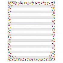 "Confetti 10 Pocket Chart, 34 x 44"" - TCR20328 | Teacher Created Resources | Pocket Charts"""