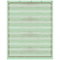 """Mint Painted Wood 10 Pocket Chart, 34 x 44"""" - TCR20329 