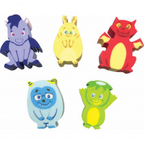 Whatsits Collectable Erasers Mystery Packs: Fantasy Friends - TCR20344 | Teacher Created Resources | Erasers