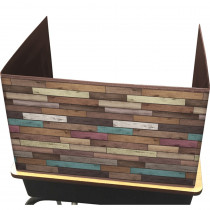 Reclaimed Wood Privacy Screen - TCR20346   Teacher Created Resources   Wall Screens