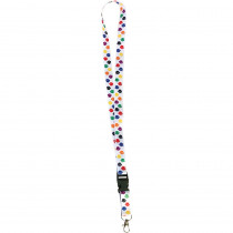 Colorful Paw Print Lanyard - TCR20350 | Teacher Created Resources | Accessories