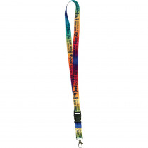 Positive Saying Watercolor Lanyard - TCR20355 | Teacher Created Resources | Accessories