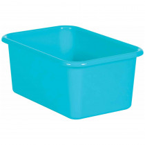 Teal Small Plastic Storage Bin - TCR20381 | Teacher Created Resources | Storage Containers