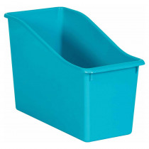 Teal Plastic Book Bin - TCR20387 | Teacher Created Resources | Storage Containers