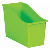 Lime Plastic Book Bin - TCR20388 | Teacher Created Resources | Storage Containers
