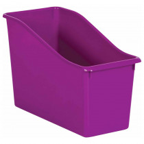 Purple Plastic Book Bin - TCR20389 | Teacher Created Resources | Storage Containers