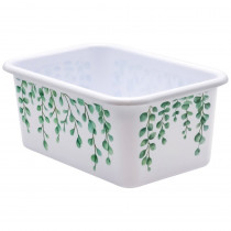 Eucalyptus Small Plastic Storage Bin - TCR20403 | Teacher Created Resources | Storage Containers