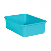 Teal Large Plastic Storage Bin - TCR20407 | Teacher Created Resources | Storage Containers