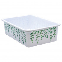 Eucalyptus Large Plastic Storage Bin - TCR20421 | Teacher Created Resources | Storage Containers