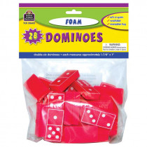 TCR20602 - Foam Dominoes Red in Dominoes