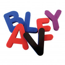 TCR20618 - Magnetic Foam Uppercase Letters in Magnetic Letters