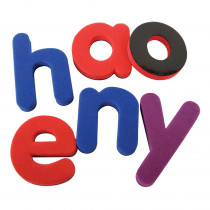 TCR20619 - Magnetic Foam Lowercase Letters in Magnetic Letters