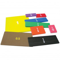 TCR20628 - Foam Fraction Squares in Fractions & Decimals