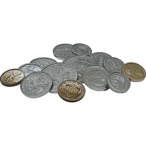 TCR20639 - Play Money Assorted Coins in Money