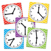 TCR20640 - Clocks Spinners Pack Of 5 in Time