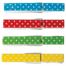 TCR20671 - Polka Dot Clothespins in Clips