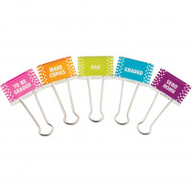 TCR20690 - Classroom Management Large Binder Clips in Clips