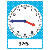 TCR20710 - Magnetic Foam Geared Clock Large in Time