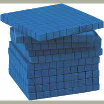 TCR20713 - Foam Base Ten Hundreds Flats in Base Ten