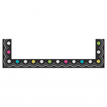 TCR20728 - Chalkboard Brights Magnetic Pockets Small in Whiteboard Accessories