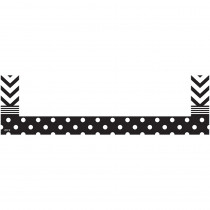 TCR20730 - Chevrons And Dots Magnetic Pockets Small in Whiteboard Accessories