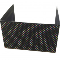 TCR20763 - Chalkboard Brights Classrm Privacy Screen 16X22x16 in Wall Screens