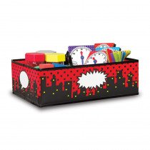 TCR20768 - Superhero Storage Bins Med 16X11x5 in Storage Containers