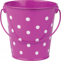 TCR20826 - Purple Polka Dots Bucket in Sand & Water