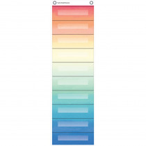 TCR20842 - File Storage Pcket Chart Watercolor in Storage