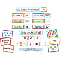 TCR20847 - Numbers Counting Pocket Chart Cards in Sight Words